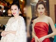 """""""Nữ hoàng thảm đỏ"""" Angela Phương Trinh bị lu mờ trước HH Thu Thảo"""