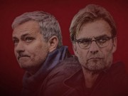 """Bóng đá - MU đấu Liverpool: Mourinho thăng hoa vẫn """"sợ"""" Klopp"""