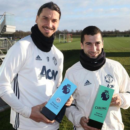 """MU """"nhuộm đỏ"""" giải thưởng NHA tháng 12, Conte lập kỷ lục - 3"""