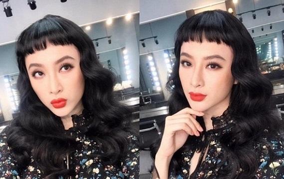 """Những kiểu tóc """"có một không hai"""" của Angela Phương Trinh - 1"""