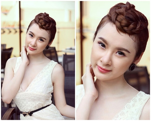 """Những kiểu tóc """"có một không hai"""" của Angela Phương Trinh - 4"""