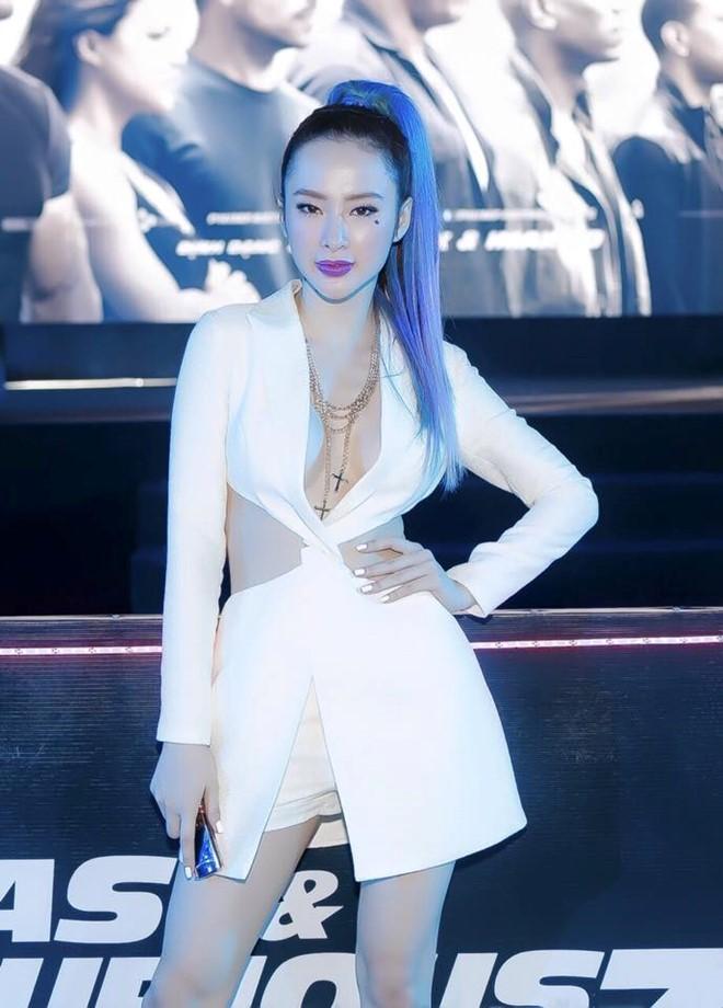 """Những kiểu tóc """"có một không hai"""" của Angela Phương Trinh - 5"""