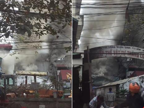 Cận tết, 'bà hỏa' thiêu rụi một căn nhà tại Hà Nội - 1