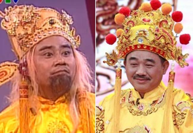 2003 là năm đầu tiên chương trình Gặp nhau cuối năm ra đời. Trong số đầu này, NSƯT Quốc Trượng đảm nhận vai Ngọc Hoàng. Đó cũng là lần cuối cùng anh vào vai chính này, trước khi NSƯT Quốc Khánh đảm nhận vai Ngọc Hoàng từ năm 2004 đến nay.
