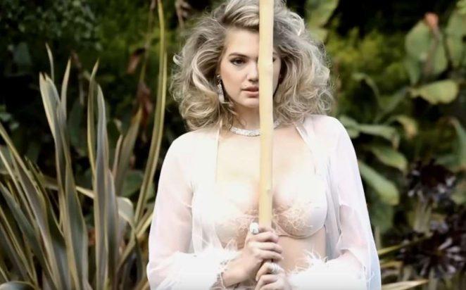 Mẫu béo Kate Upton hóa thân xuất thần, siêu giống Marilyn Monroe - 1