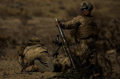 Sự lợi hại đáng sợ của súng cối Mỹ - 1