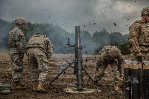 Sự lợi hại đáng sợ của súng cối Mỹ - 2