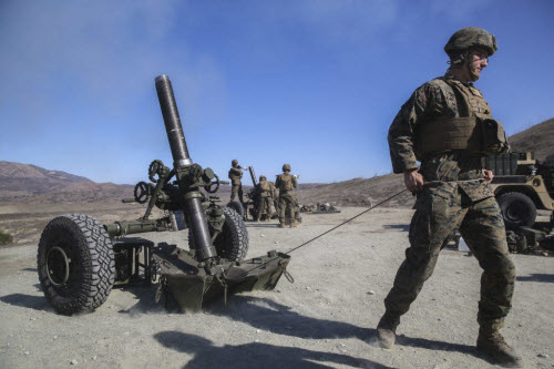 Sự lợi hại đáng sợ của súng cối Mỹ - 6