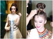"""Những kiểu tóc """"có một không hai"""" của Angela Phương Trinh"""
