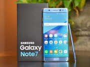 Hơn 96% Galaxy Note 7 đã được gửi trả về Samsung