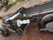 Đà Nẵng: Xe mô tô 'kỳ dị' gắn… 'khẩu đại liên 6 nòng'