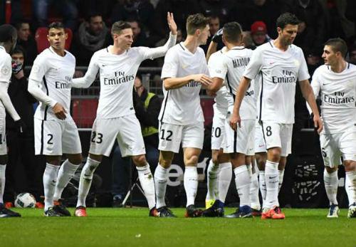 """Rennes - PSG: Show diễn của """"bom tấn"""" - 1"""
