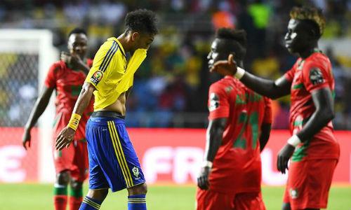 """Gabon - Guinea-Bissau: Rơi """"vàng"""" phút 90 - 1"""