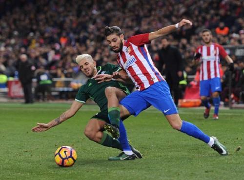 Atletico - Real Betis: Định đoạt sau 8 phút - 1