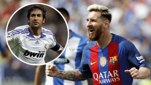 Phá lưới 35 đội ở Tây Ban Nha, Messi sánh ngang Raul - 2