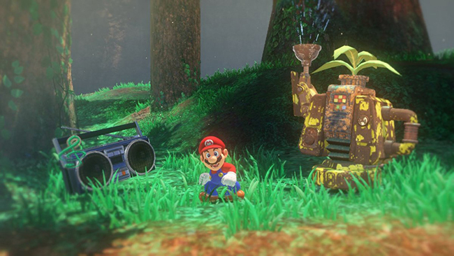 Super Mario Odyssey & nbsp;lần đầu tiên được tiết lộ trong trailer giới thiệu hệ máy chơi game & nbsp;Nintendo Switch.