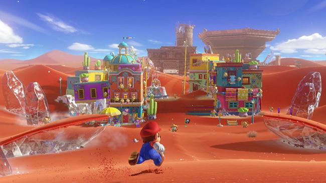 Super Mario Odyssey & nbsp;sẽ mang tới cho người chơi trải nghiệm như trên thế giới thực.