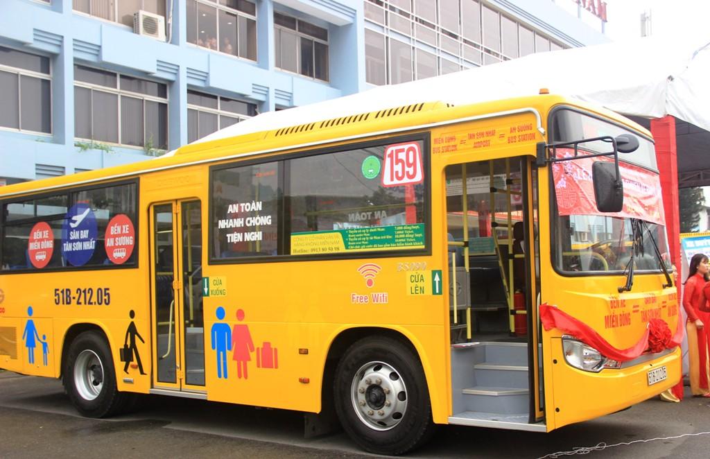 Mở tuyến buýt 5 sao từ 2 bến xe lớn đến Tân Sơn Nhất - 2
