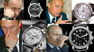 """Đồng hồ nguyên thủ quốc gia: Bush bình dân, Putin hàng """"đỉnh"""" - 3"""