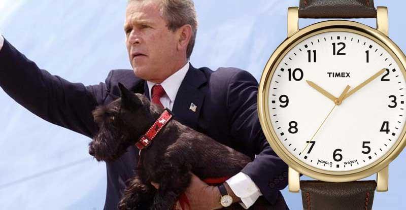 """Đồng hồ nguyên thủ quốc gia: Bush bình dân, Putin hàng """"đỉnh"""" - 9"""