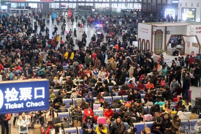 Đại di cư TQ: 3 tỉ lượt người dồn dập về quê đón Tết - 2