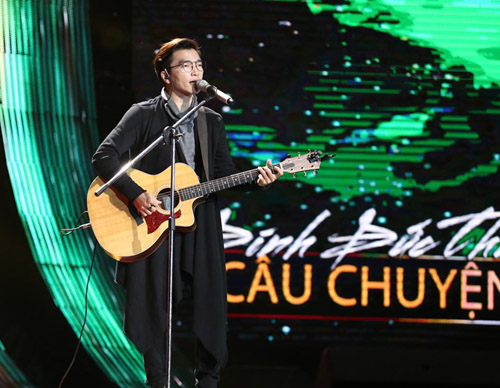 "Hoàng Dũng ""The Voice"" gây sốt tại Sing my song - 4"