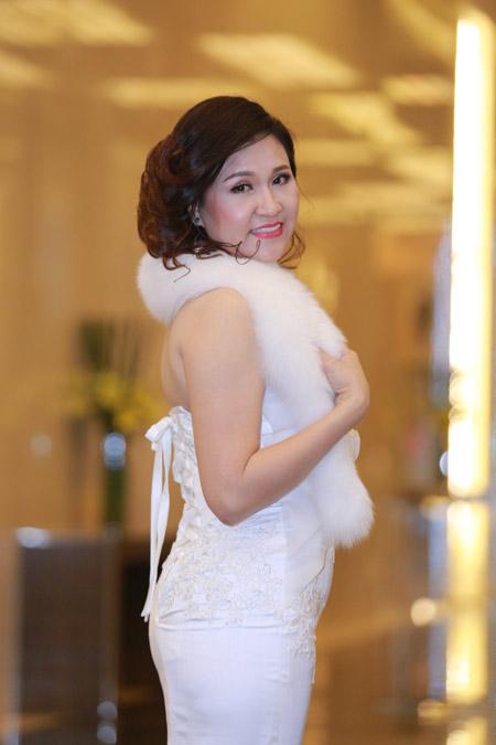 Á hoàng Thu Lộc rạng rỡ trong đêm dạ tiệc Lady Luxury Night - 2
