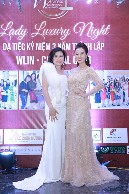 Á hoàng Thu Lộc rạng rỡ trong đêm dạ tiệc Lady Luxury Night - 5