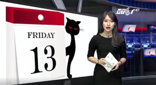 Bất ngờ nữ sinh 18 tuổi dẫn bản tin thời sự quốc tế VTC - 2
