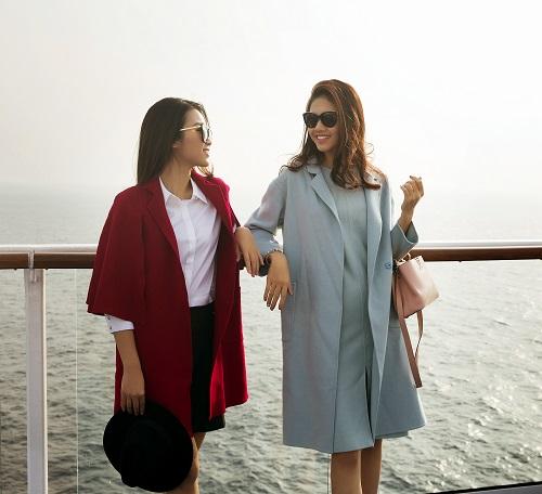 """Mỹ Linh, Thanh Tú """"sang chảnh"""" trên du thuyền triệu đô - 3"""