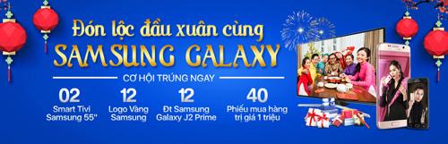 """Mua Samsung nhận quà """"khủng"""" trong dịp Tết Đinh Dậu - 1"""