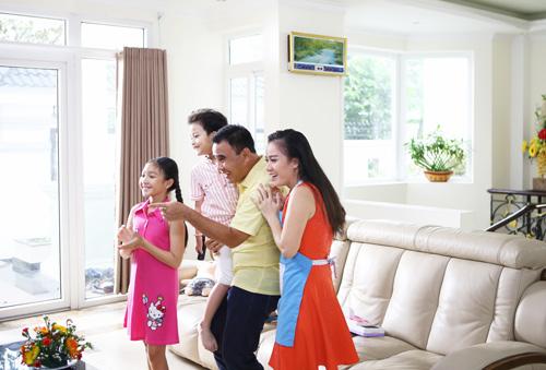 Gia đình Quyền Linh: Nỗ lực gần con ngay từ những việc nhỏ - 3