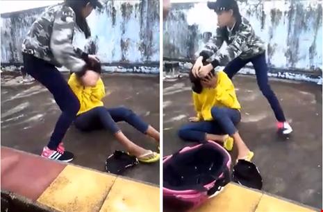 Công an vào cuộc vụ nữ sinh đánh bạn ở Ninh Thuận - 1