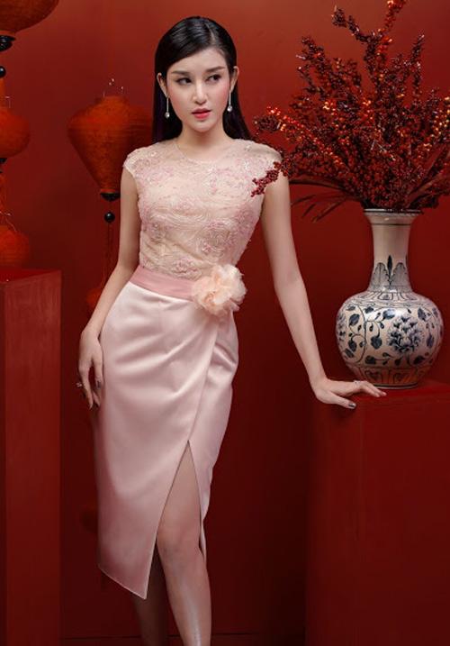 Huyền My xinh đẹp như công chúa mùa xuân - 6