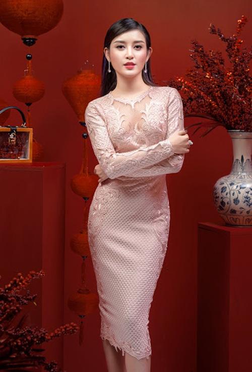 Huyền My xinh đẹp như công chúa mùa xuân - 5