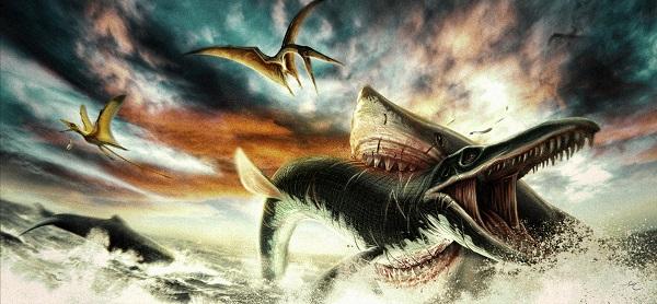 """Lý do tuyệt chủng của loài cá mập """"khủng"""" nhất Trái đất - 1"""