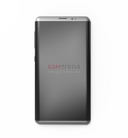 Samsung Galaxy S8 thiết kế 3D cực đẹp - 1