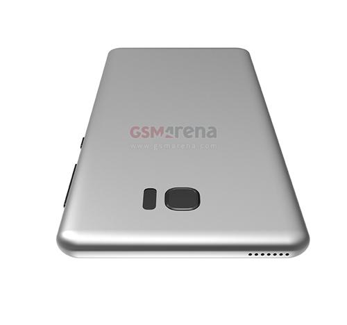 Samsung Galaxy S8 thiết kế 3D cực đẹp - 3