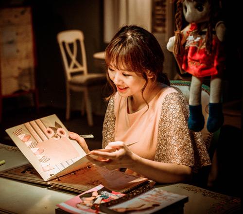 """""""50 sắc thái"""" của vợ Trấn Thành trong hậu trường phim ma - 2"""