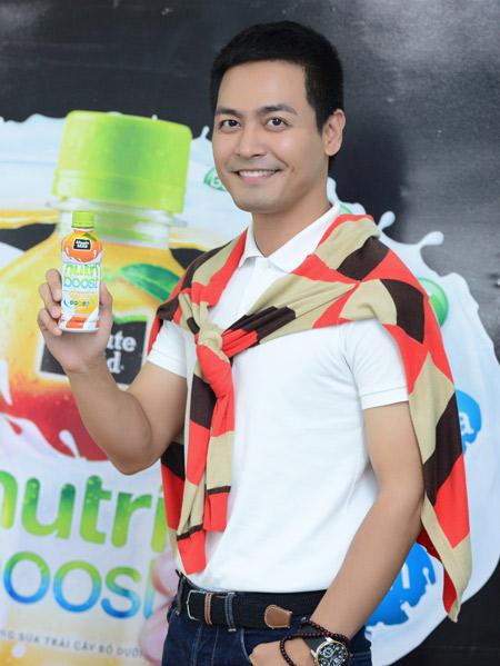 MC Phan Anh đón Xuân vui khoẻ với sữa trái cây Nutriboost - 4
