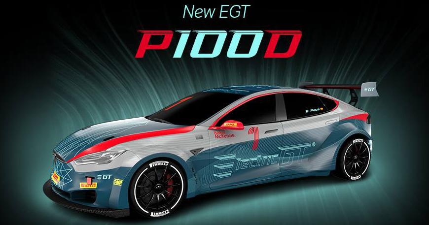 Tesla Model S P100D tăng tốc siêu nhanh - 1