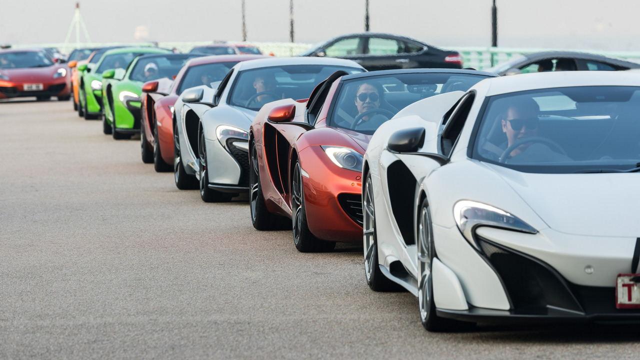 Màn tụ hội ấn tượng của 50 chiếc McLaren tại Hồng Kông - 4