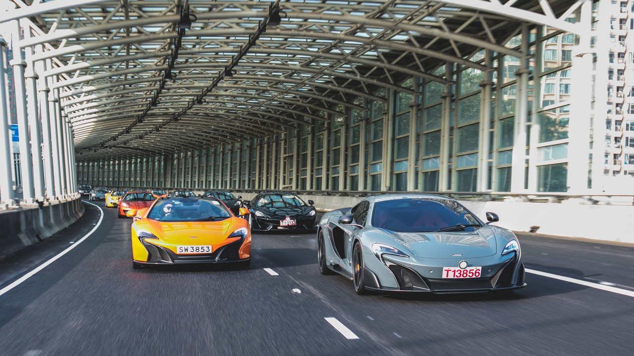 Màn tụ hội ấn tượng của 50 chiếc McLaren tại Hồng Kông - 5