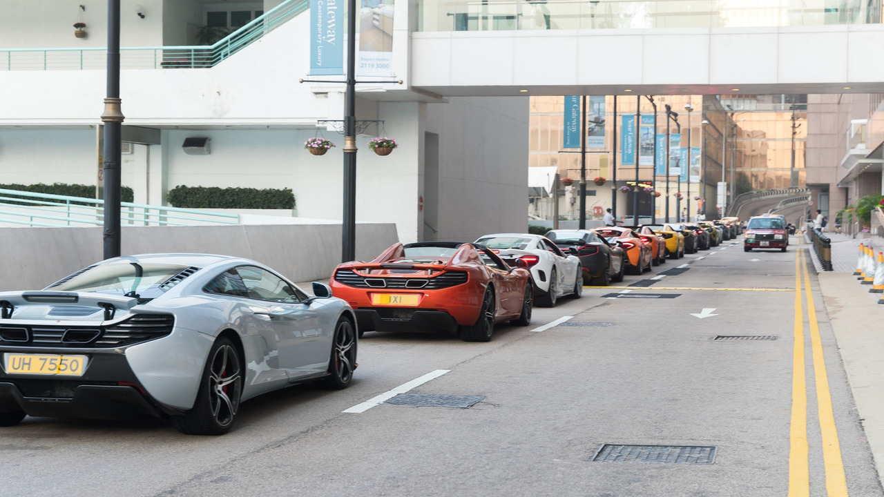 Màn tụ hội ấn tượng của 50 chiếc McLaren tại Hồng Kông - 7