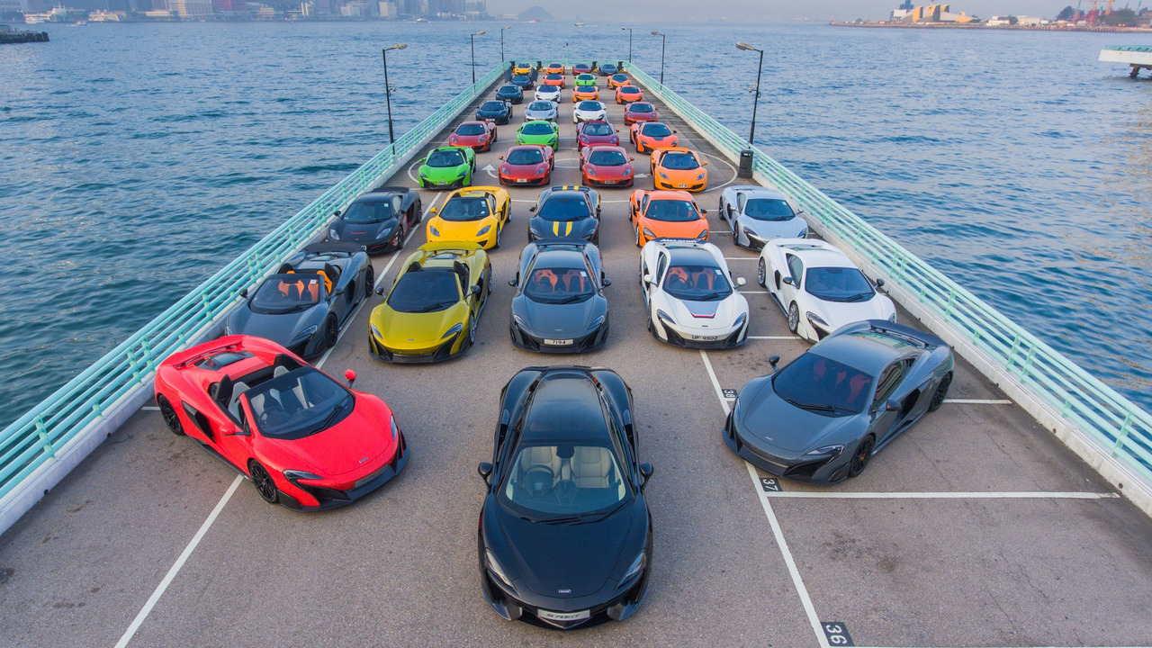 Màn tụ hội ấn tượng của 50 chiếc McLaren tại Hồng Kông - 6