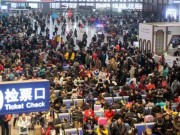 Thế giới - Đại di cư TQ: 3 tỉ lượt người dồn dập về quê đón Tết
