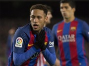 """Tam tấu """"M-S-N"""" của Barca sắp vỡ: Neymar """"hy sinh"""""""