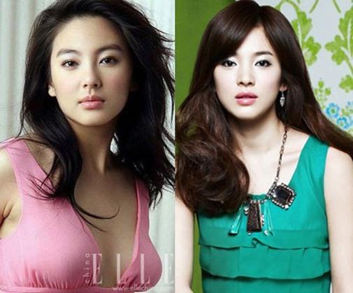 Bản sao Song Hye Kyo bị chê lố trước Phạm Băng Băng - 3