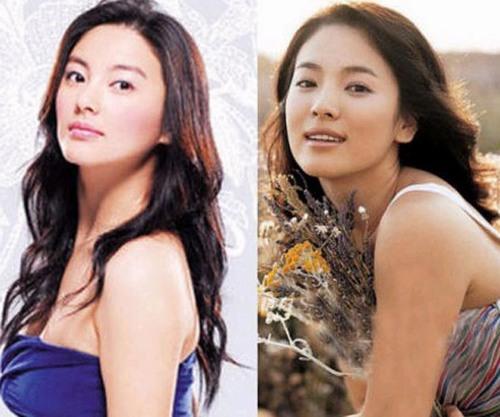 Bản sao Song Hye Kyo bị chê lố trước Phạm Băng Băng - 5