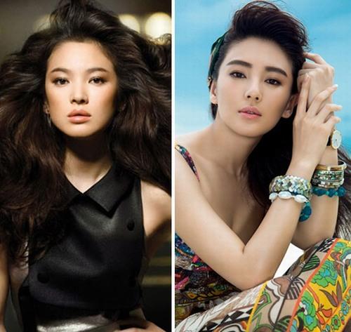 Bản sao Song Hye Kyo bị chê lố trước Phạm Băng Băng - 4